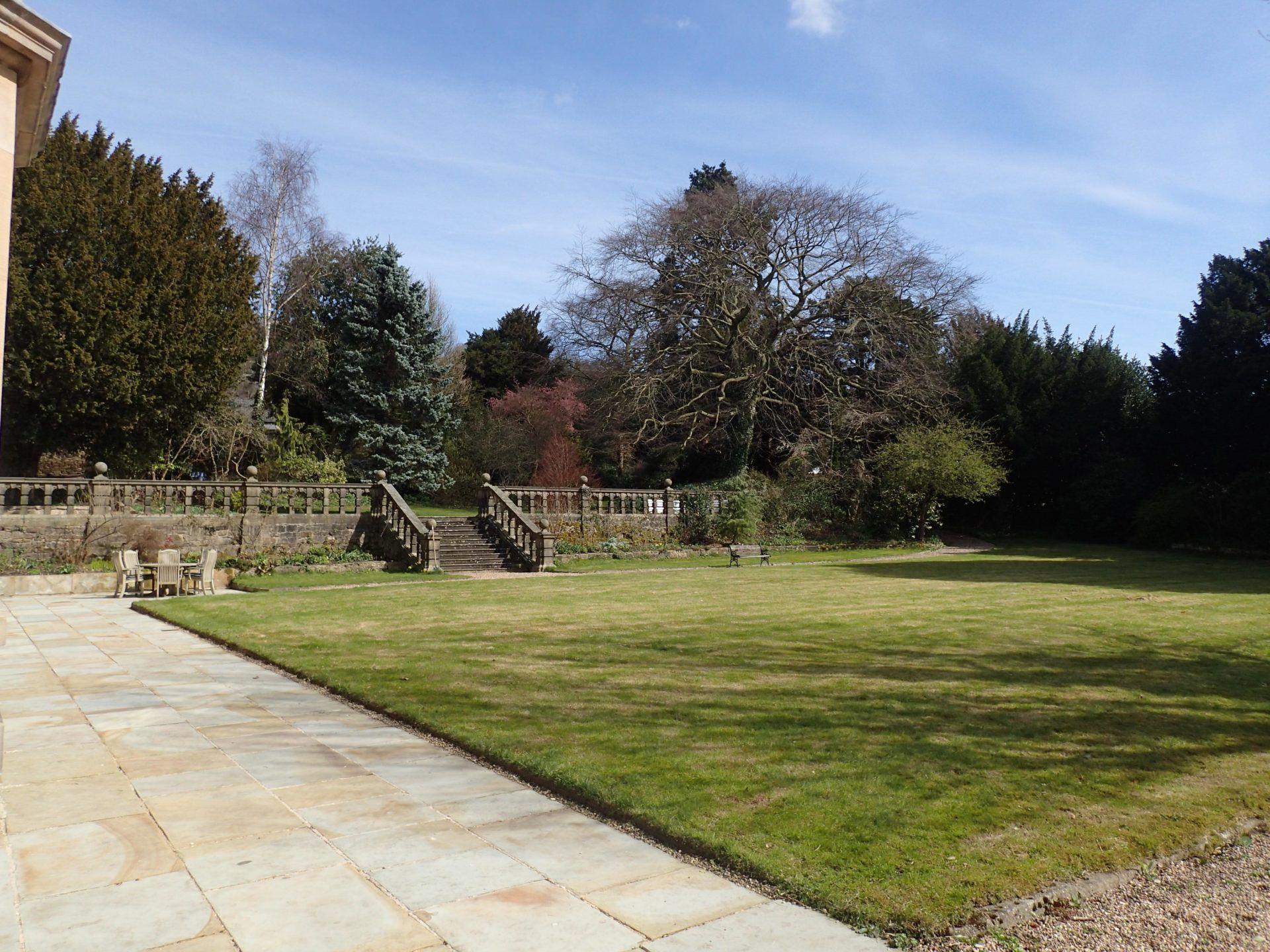 Darley House garden