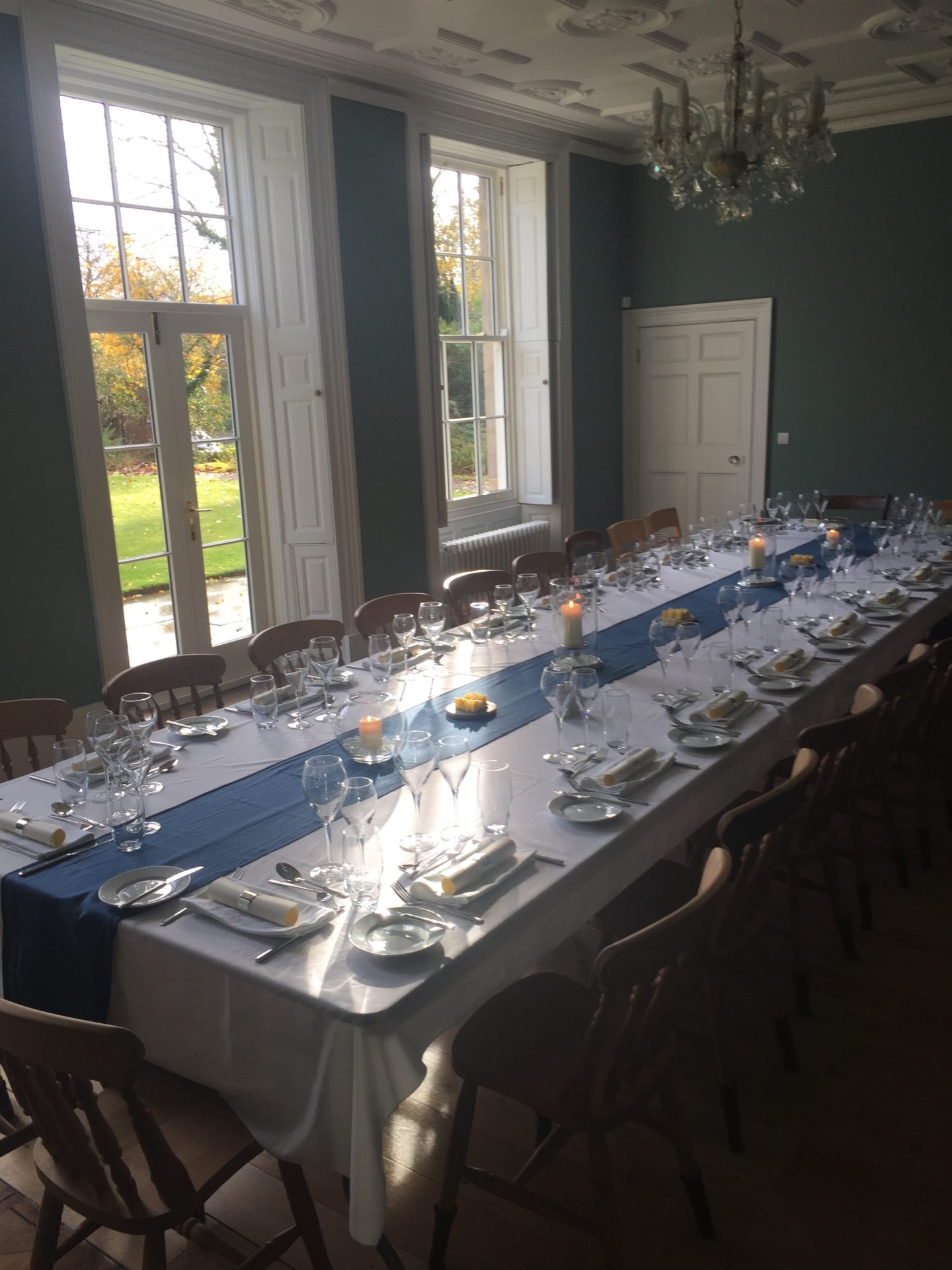 Darley House dining room