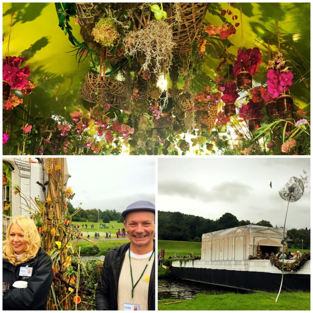 A collage of photos from RHS Chatsworth